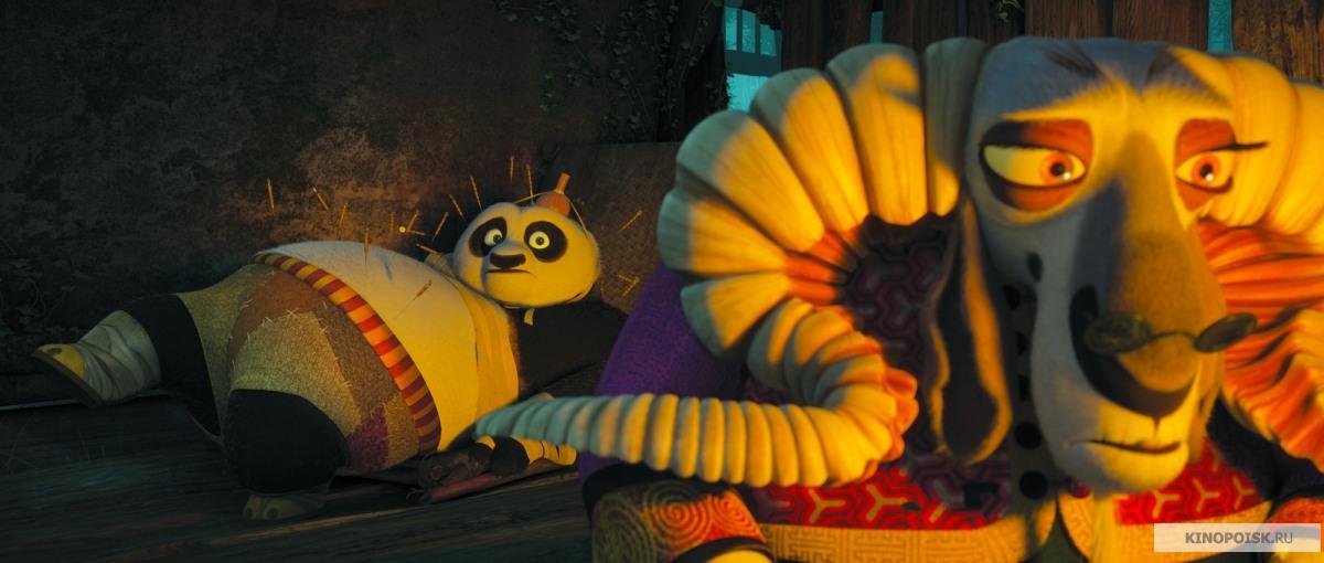 смотреть мультфильм панда кунг фу 2: