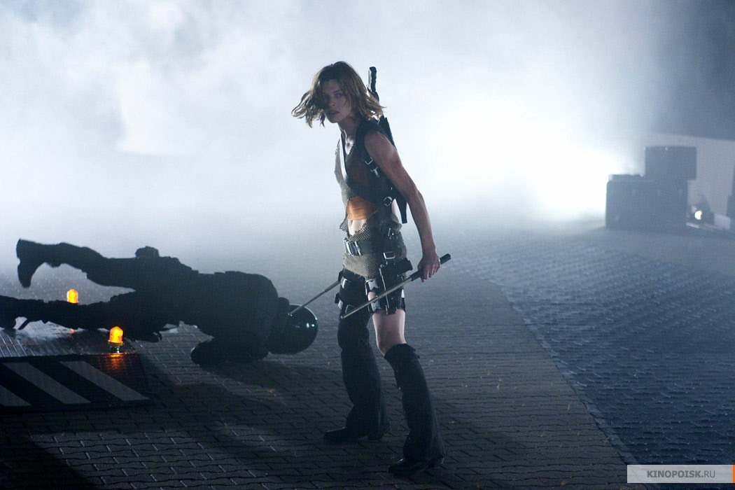 кадр №2 из фильма Обитель зла 2: Апокалипсис - смотреть онлайн