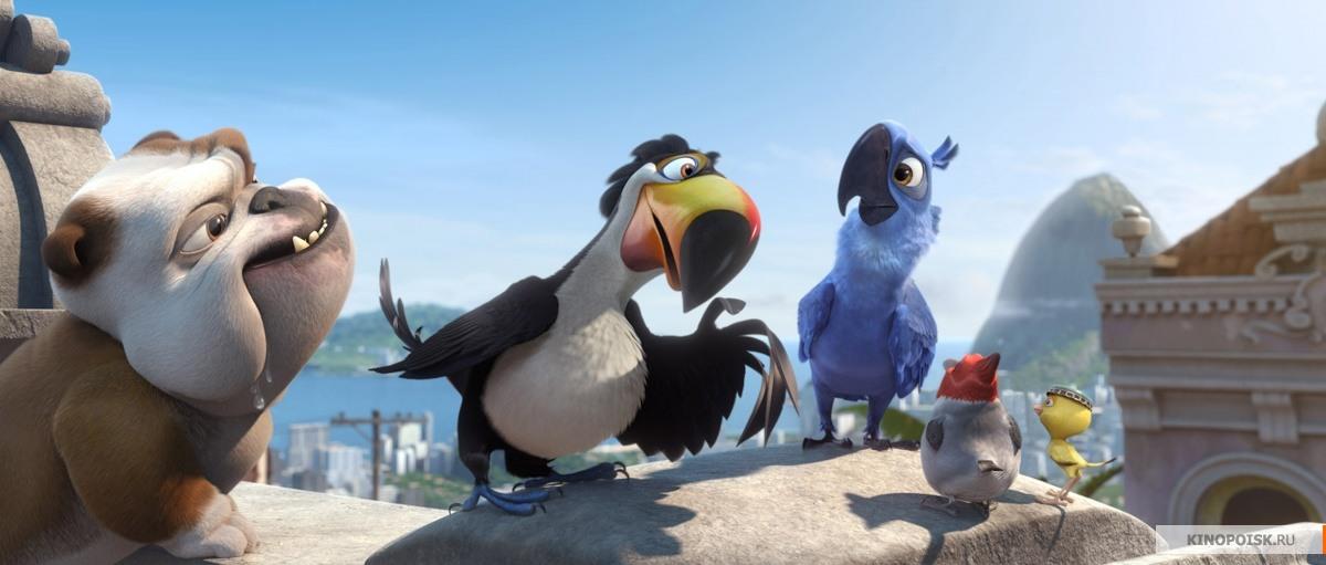Скачать мультфильм Рио через торрент бесплатно  Рио