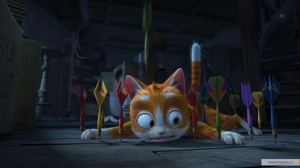 Кот гром и заколдованный дом смотреть