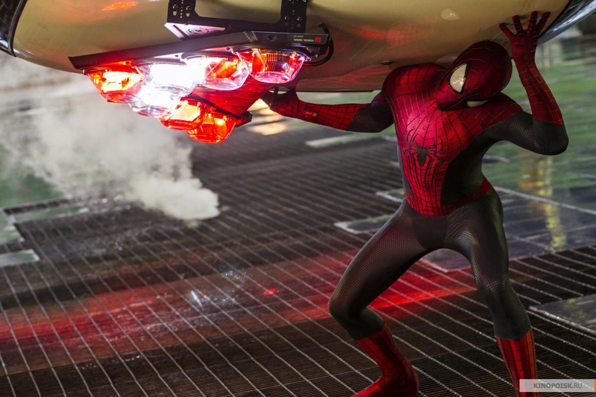 Новый человек паук высокое