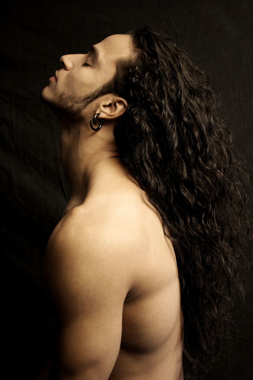Секс парней с длинными волосами 5 фотография