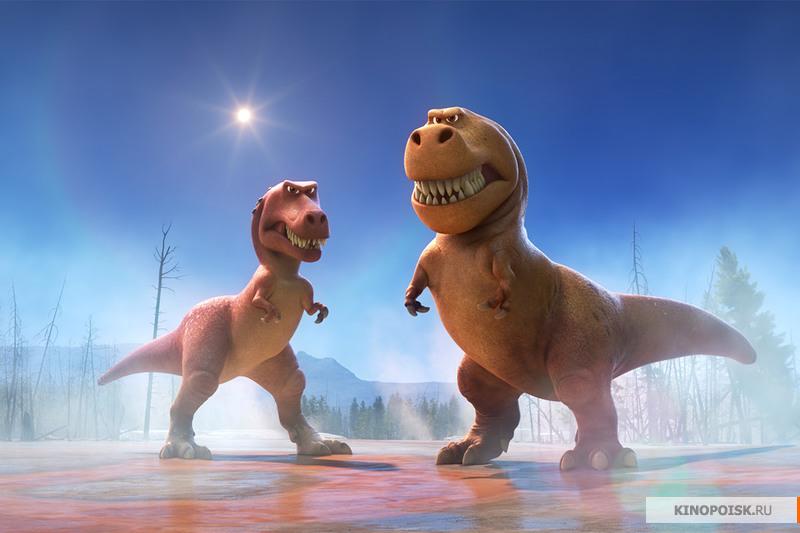 кадр №1 из фильма Хороший динозавр / 2015 [HD 720]