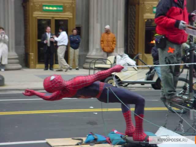 Человек паук 3 враг в отражении