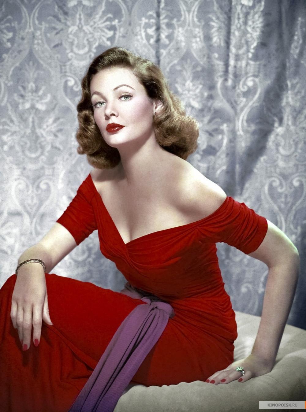 Фото дама в платье