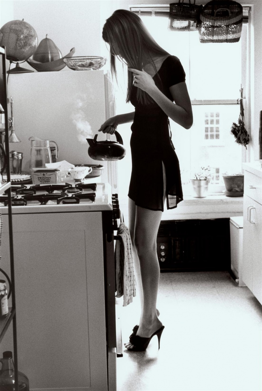 Черно белые фото девушек утром 2 фотография