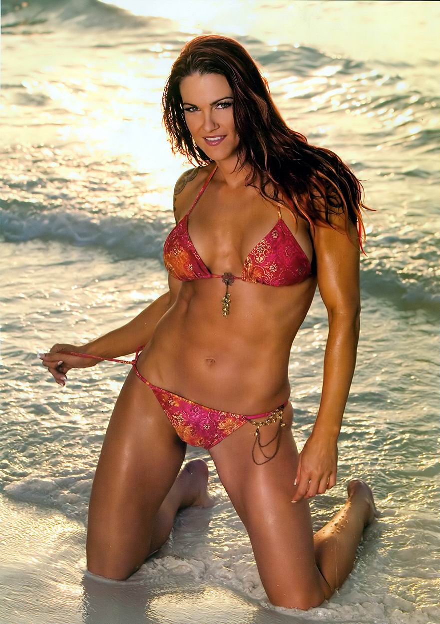 Amy christine dumas in a bikini
