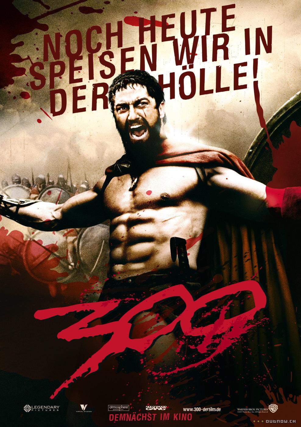 Постеры: 300 спартанцев