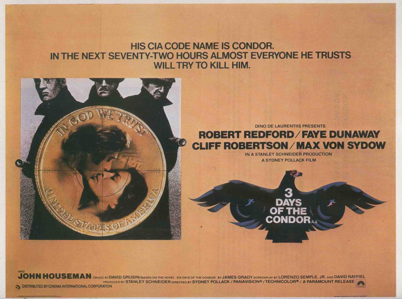 «Три Дня Кондора» — 1975