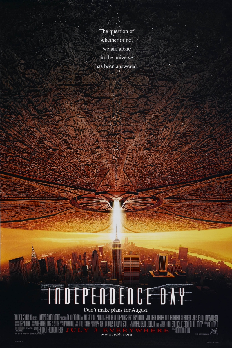 ������ � ������� ���� ������������� / Independence Day (1996)