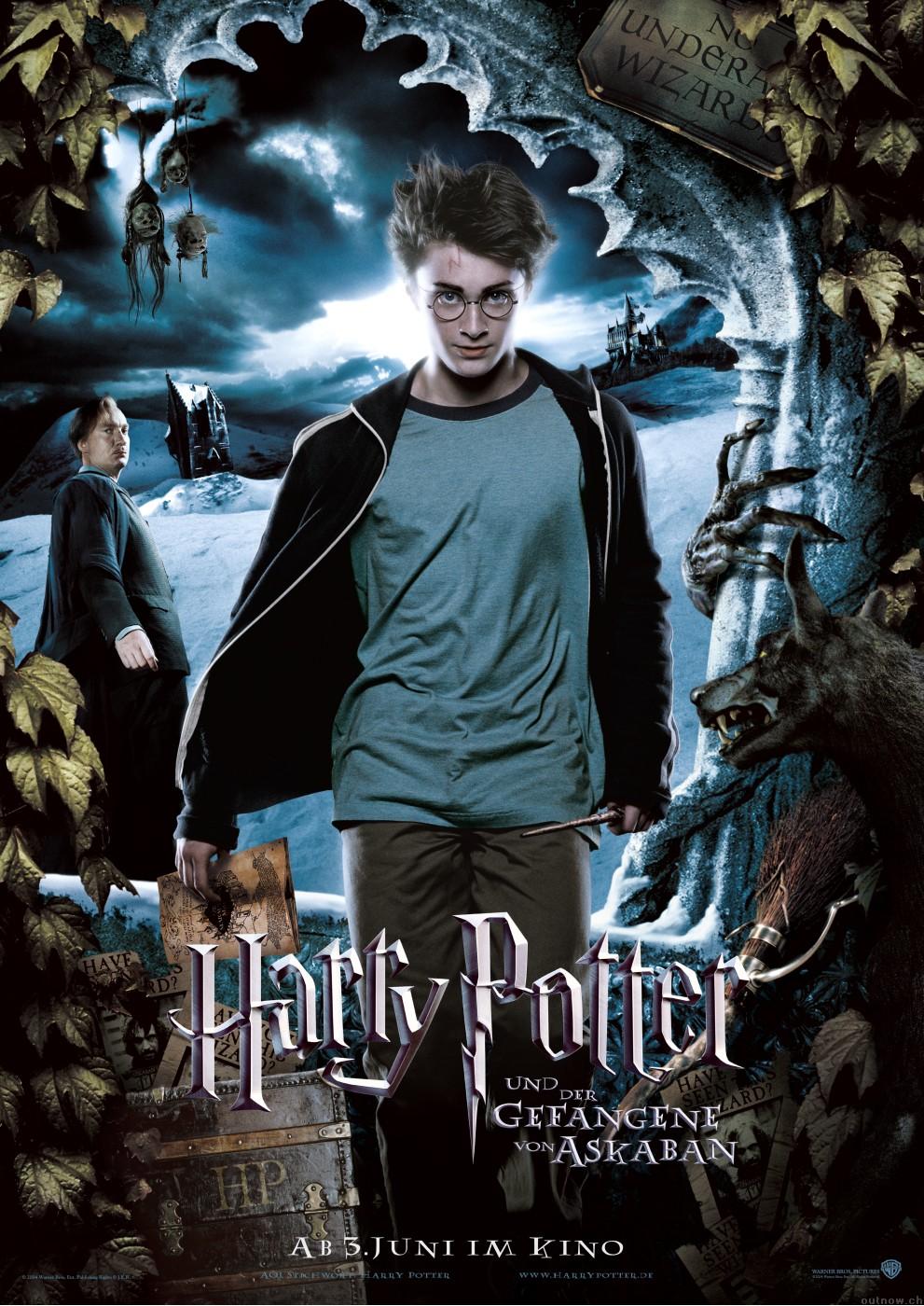 Постеры: Гарри Поттер и узник Азкабана