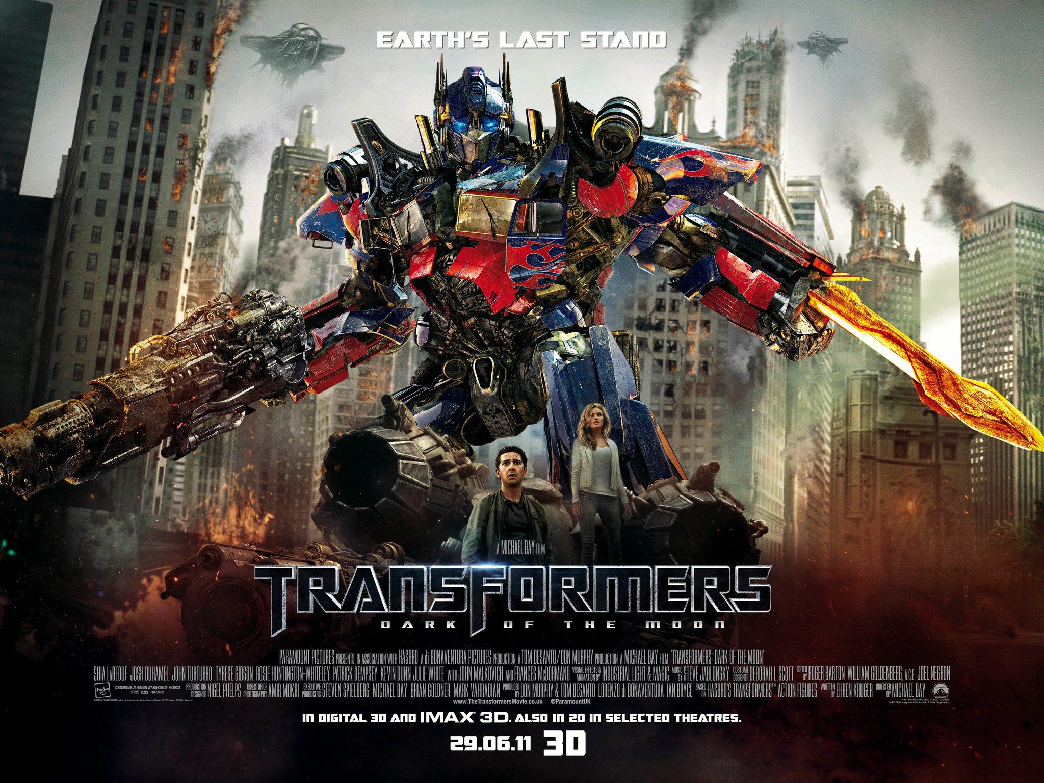 «Трансформеры 3: Тёмная Сторона Луны» — 2011