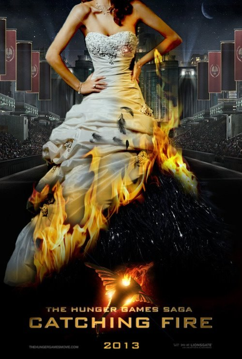 Постеры: Голодные игры: И вспыхнет пламя