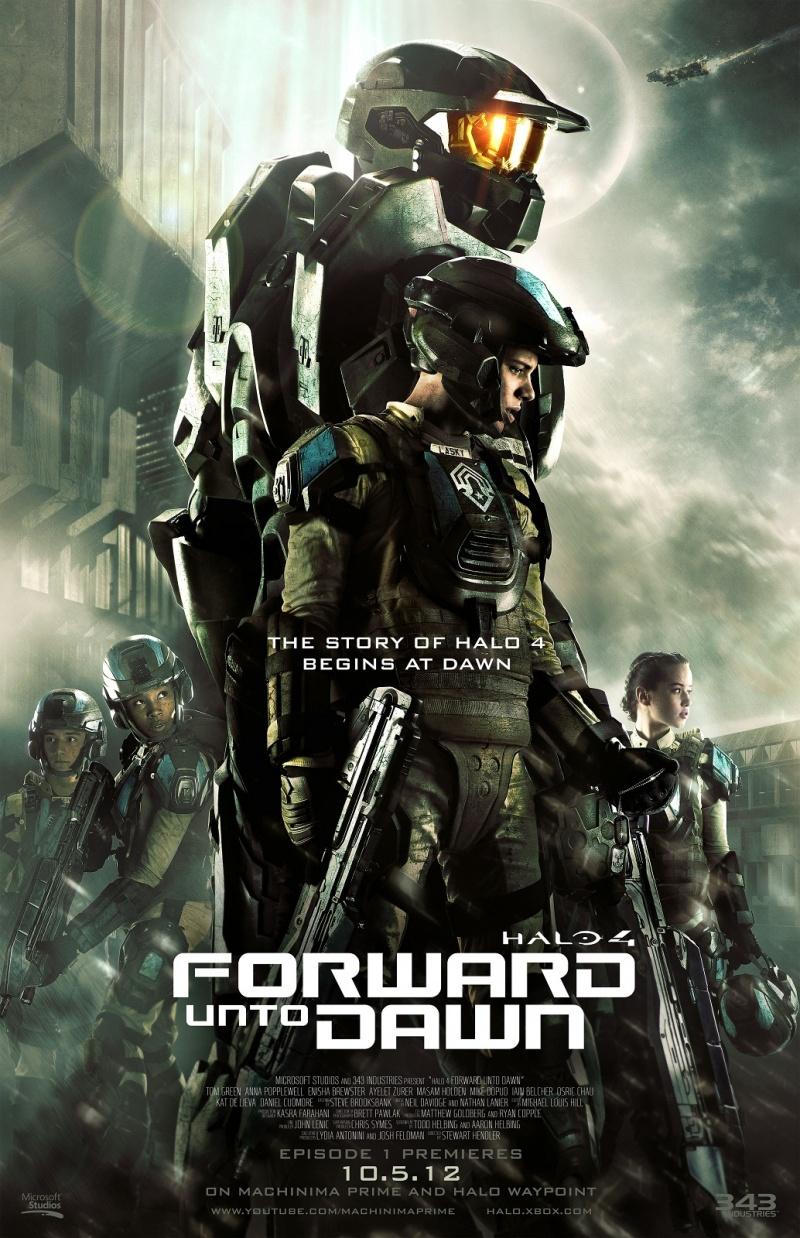 Halo 4: Идущий к рассвету - смотреть онлайн