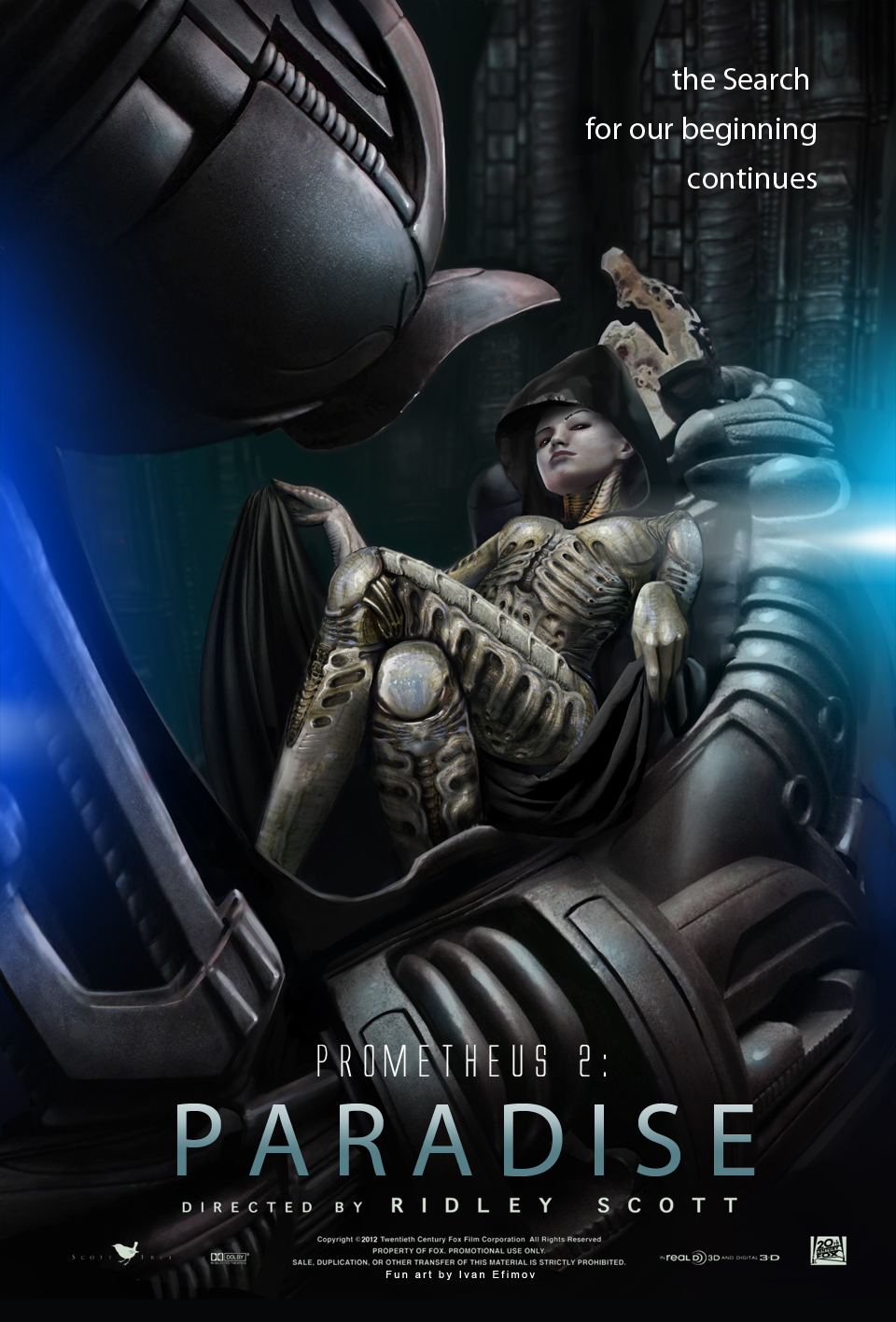 Чужой: Завет / Прометей 2 (2016) Смотреть онлайн