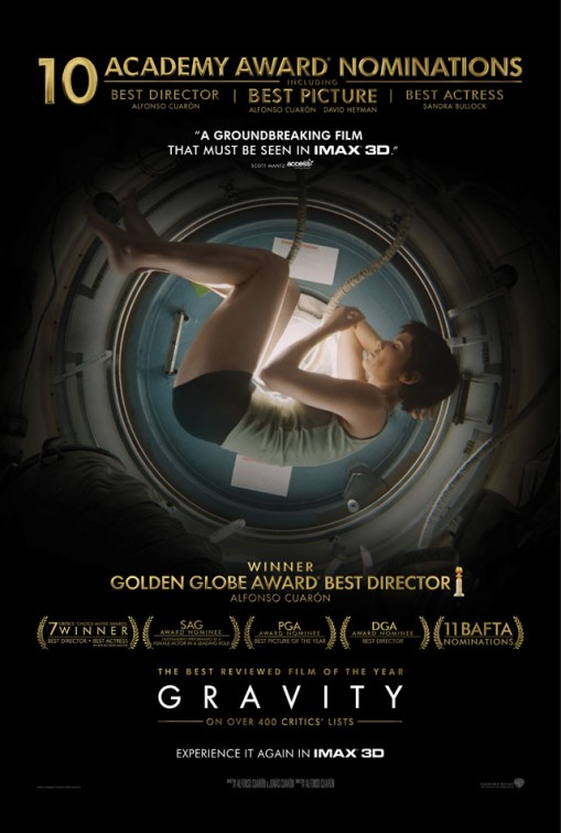 ���������� � 3� / Gravity 3D (2013) [BDRip, OverUnder / ������������ ����������]