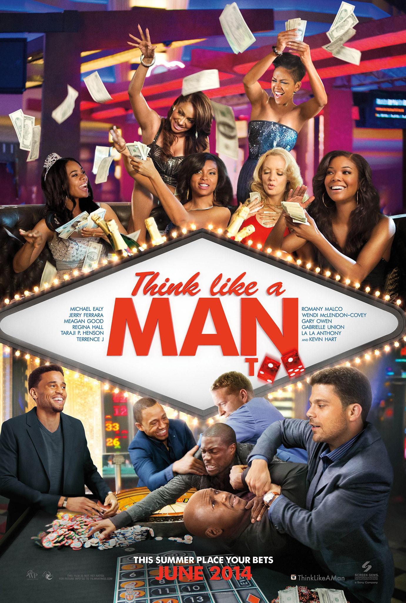 Постеры: Думай, как мужчина 2