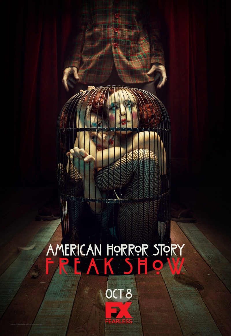 Постеры американская история ужасов