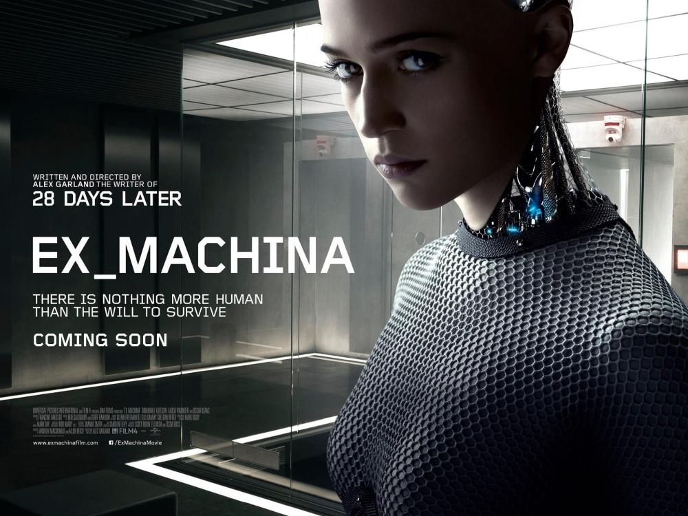 Ex Machina (2015) Dvd Rip Full Movie Watch Online