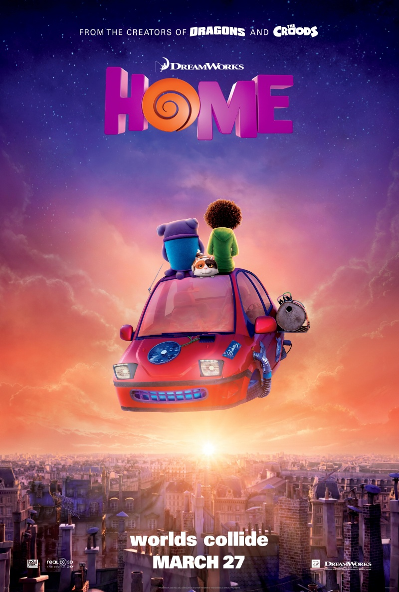 Home (2015/RUS/ENG/HDRip/ONLINE)