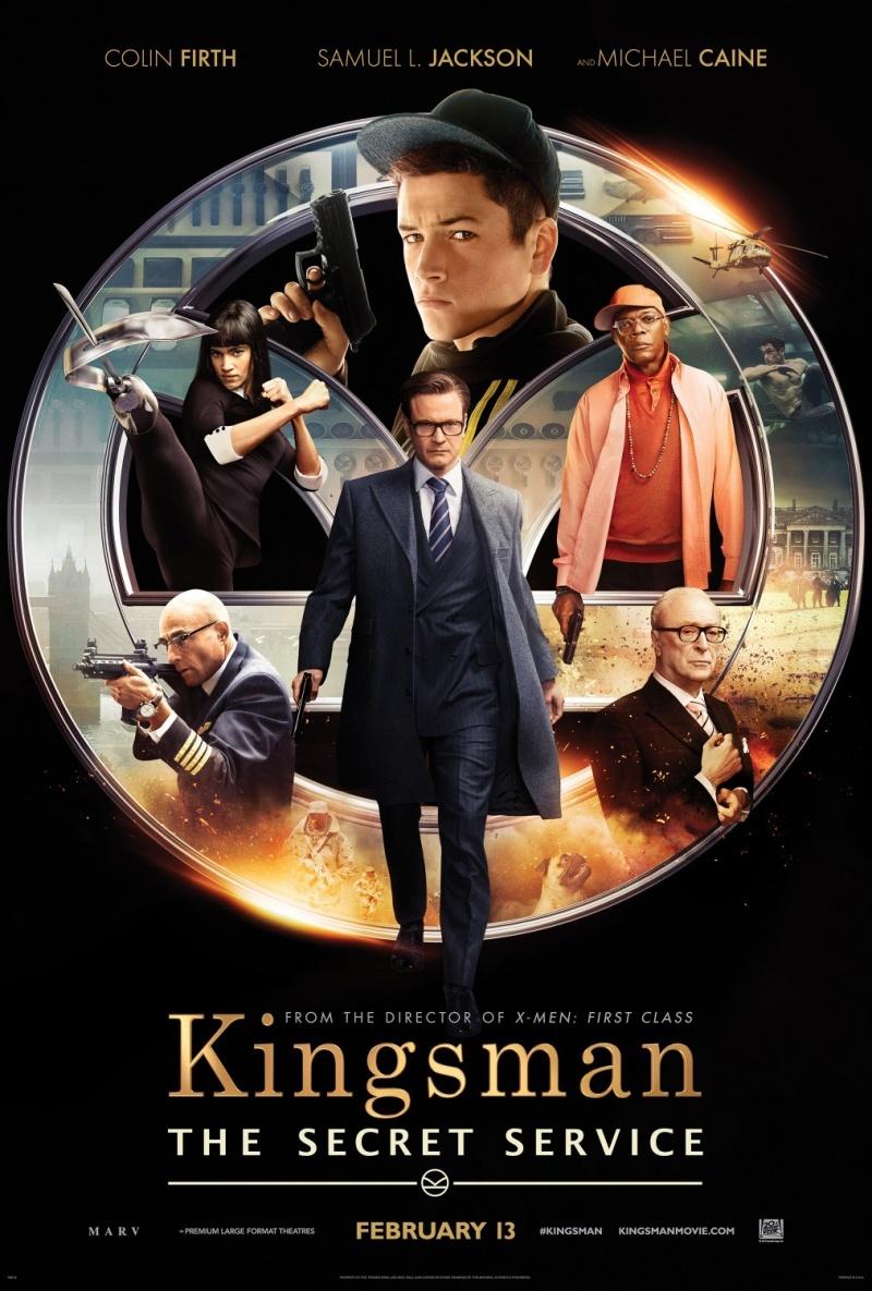 Постеры: Kingsman: Секретная служба