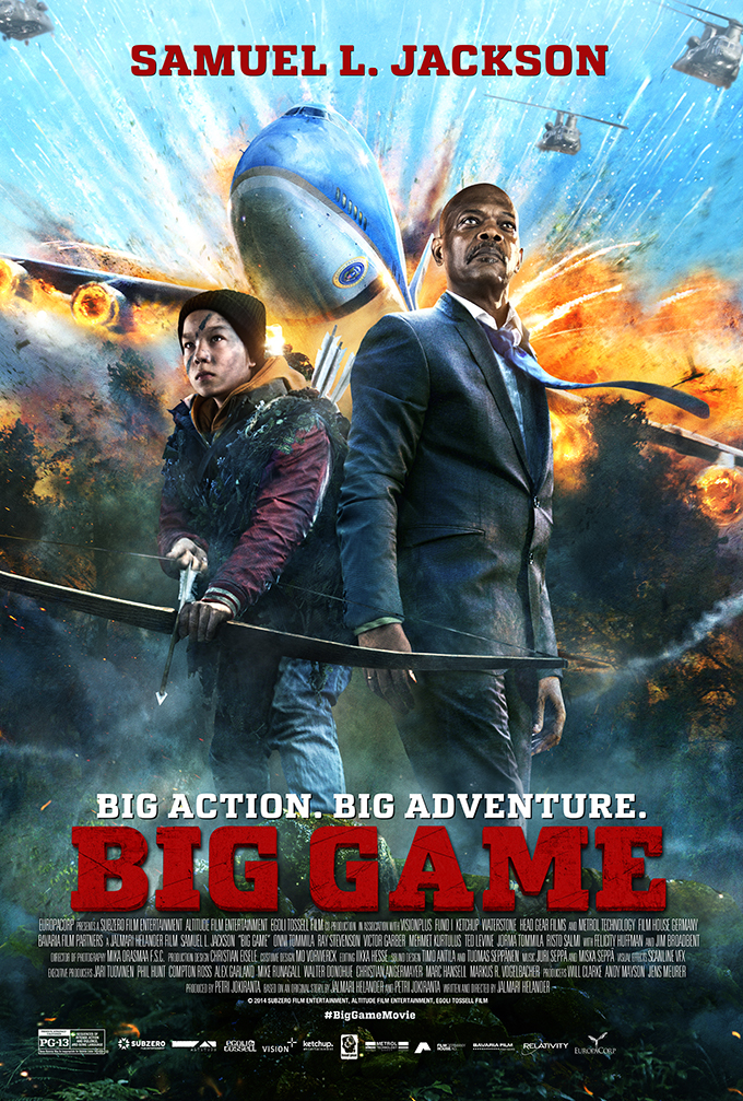 Большая игра / Big Game (2014) [HD 720]