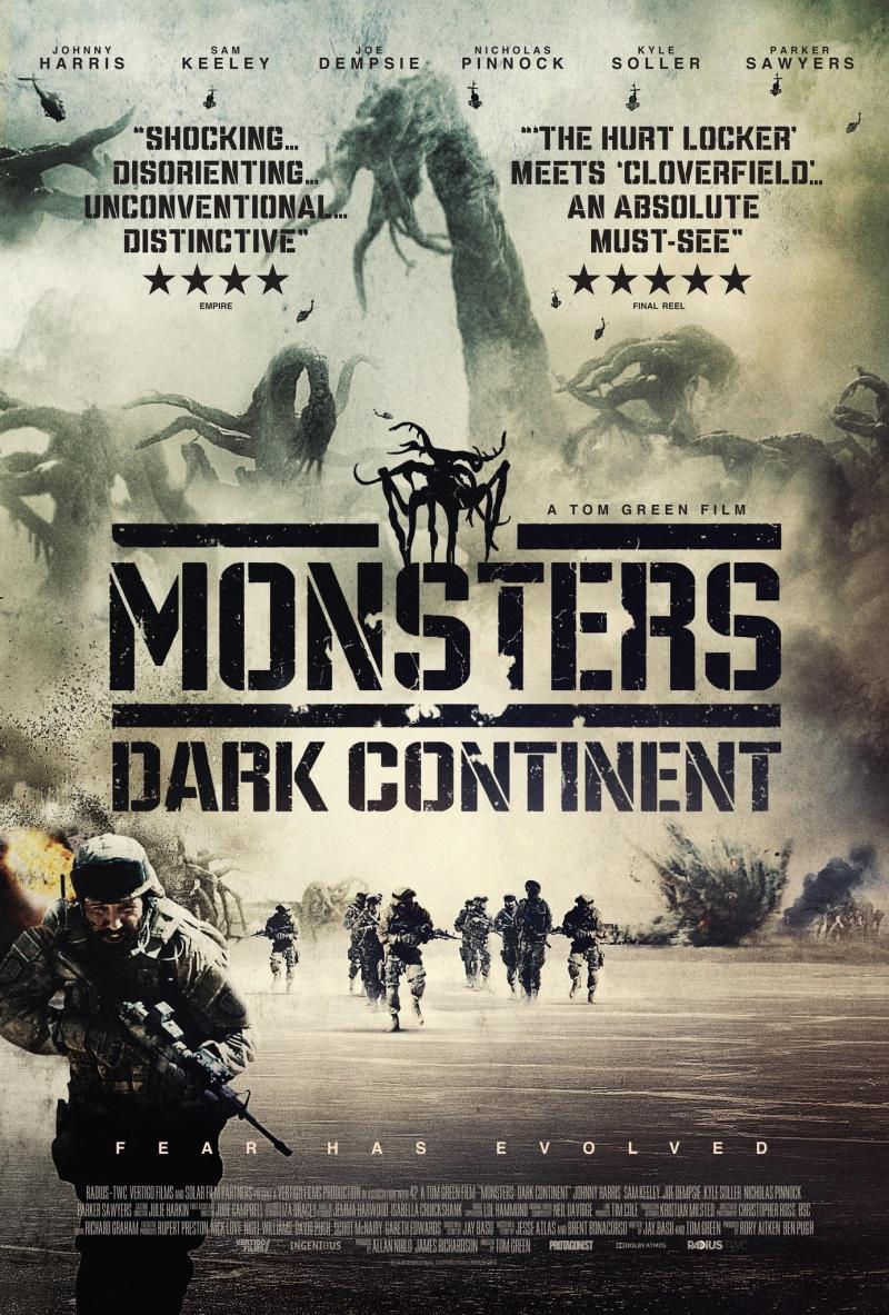 Монстры 2: Тёмный континент (2014)