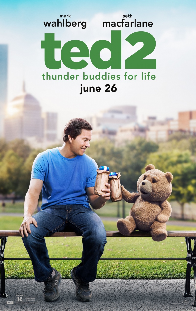 Ted 2 (2015/RUS/CAMRip)