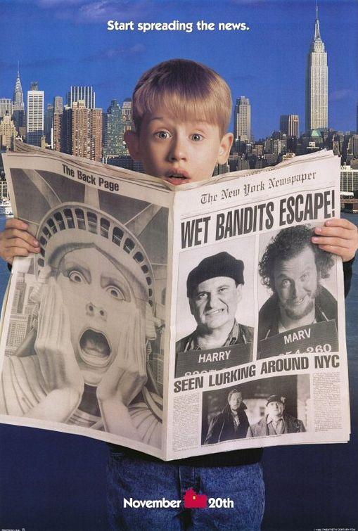 Один дома 2: Затерянный в Нью-Йорке - смотреть онлайн