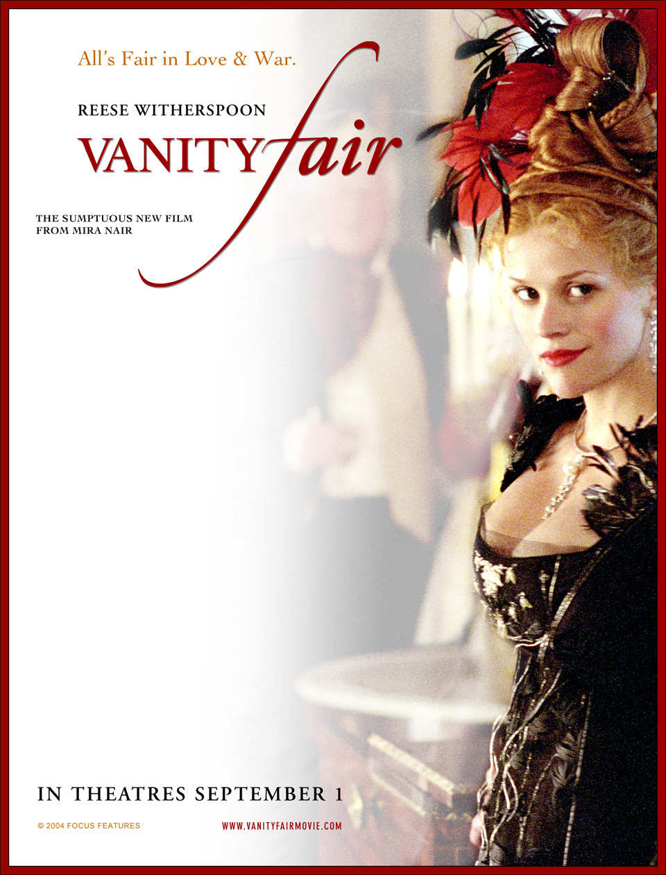 Vanity fair is an english novel by william makepeace thackeray which follows the lives of becky sharp and emmy sedley