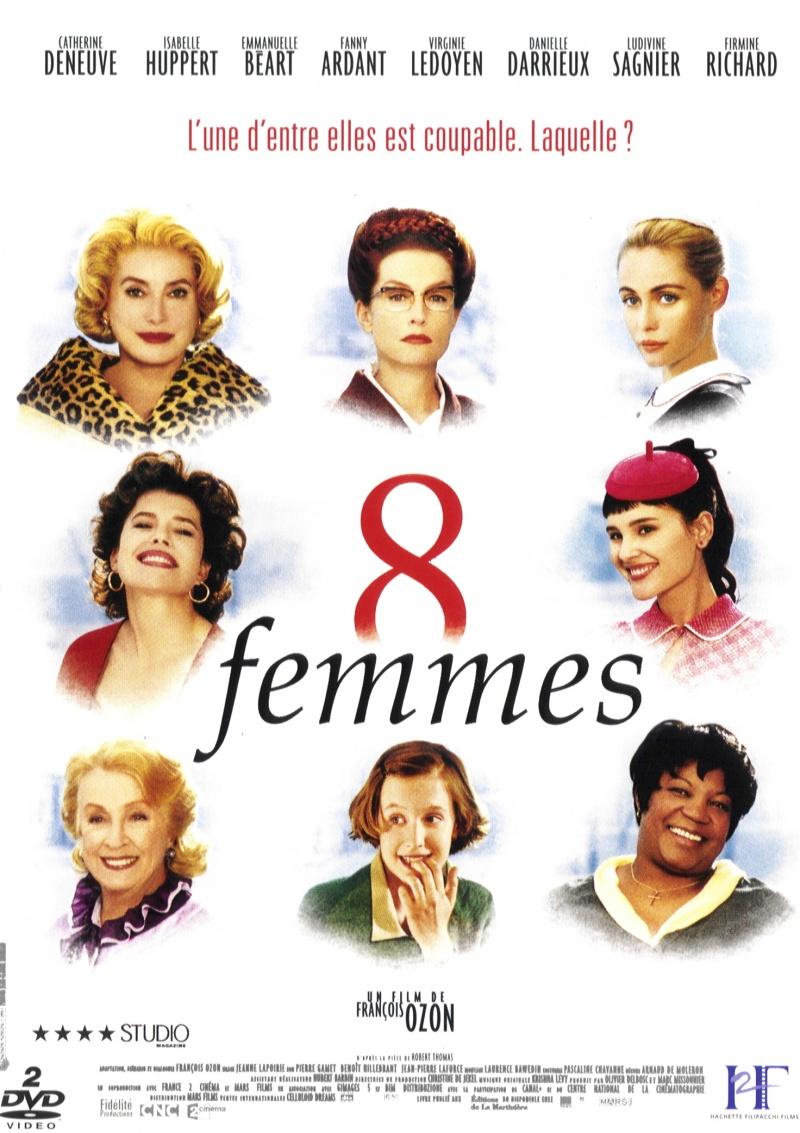 Постеры: 8 женщин