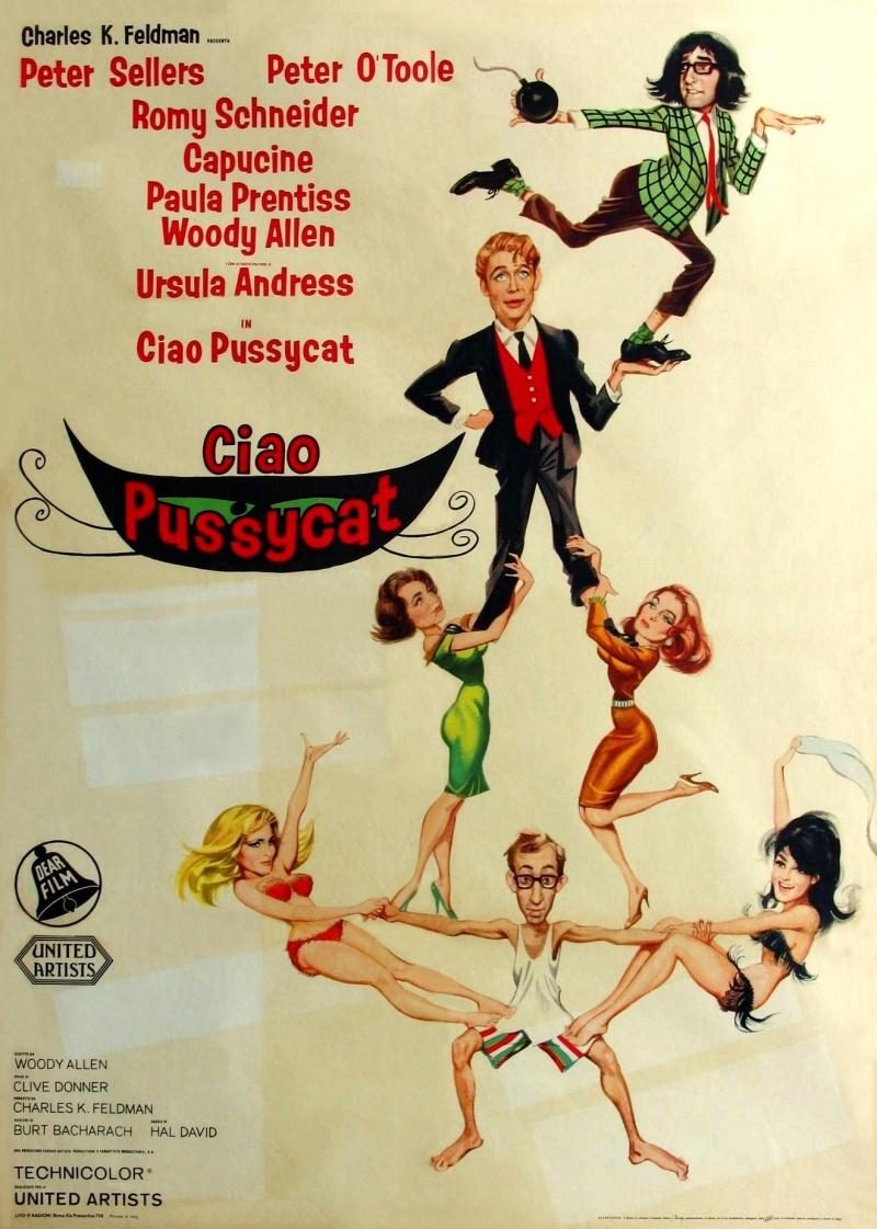 США, Франция, 1965 год. Oloa оценила фильмЧто нового, кошечка?на 5.