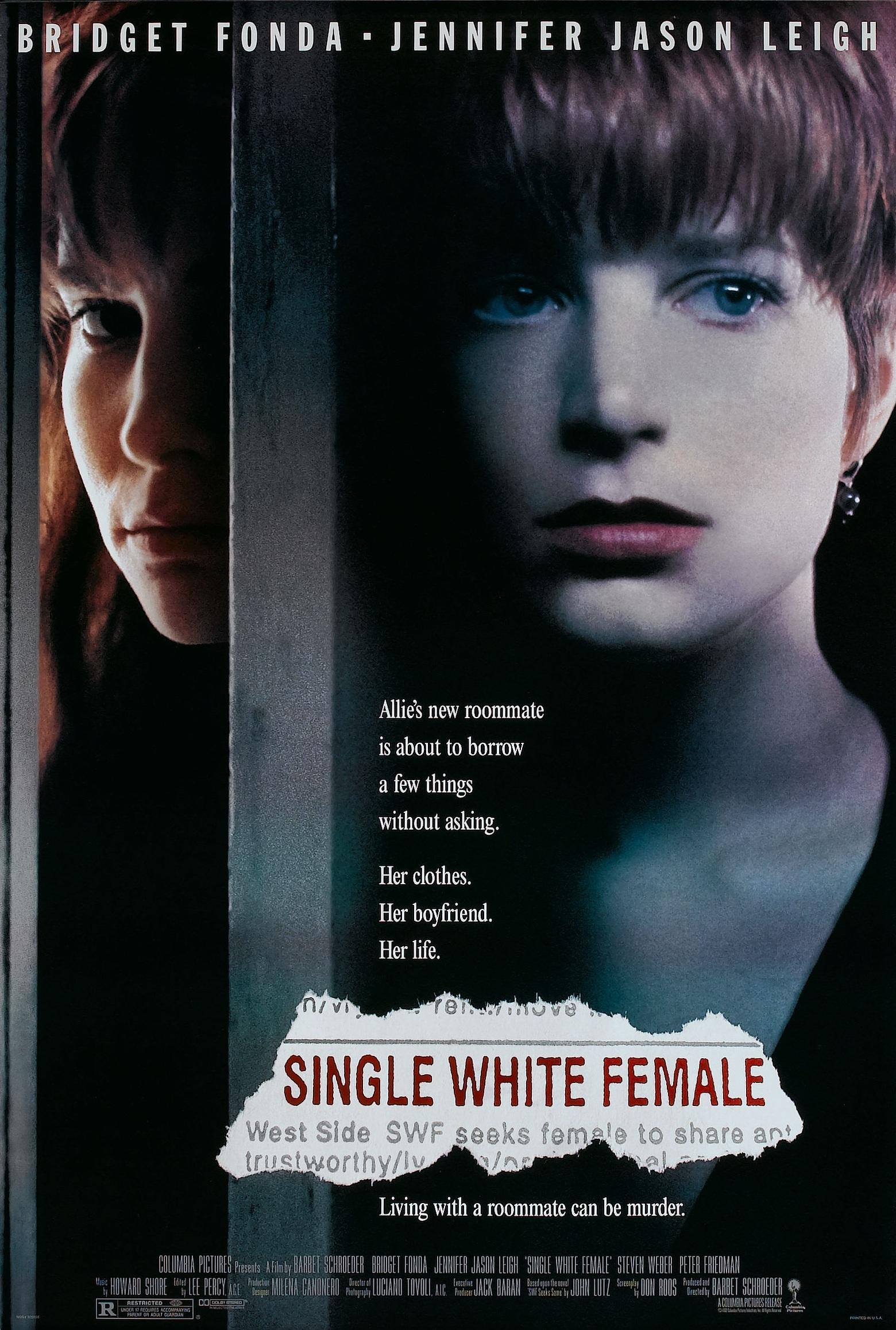 Одинокая белая женщина / Single White Female 1992 / DVDRip Drama