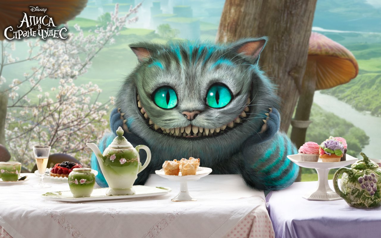 Чеширский кот фото из фильма