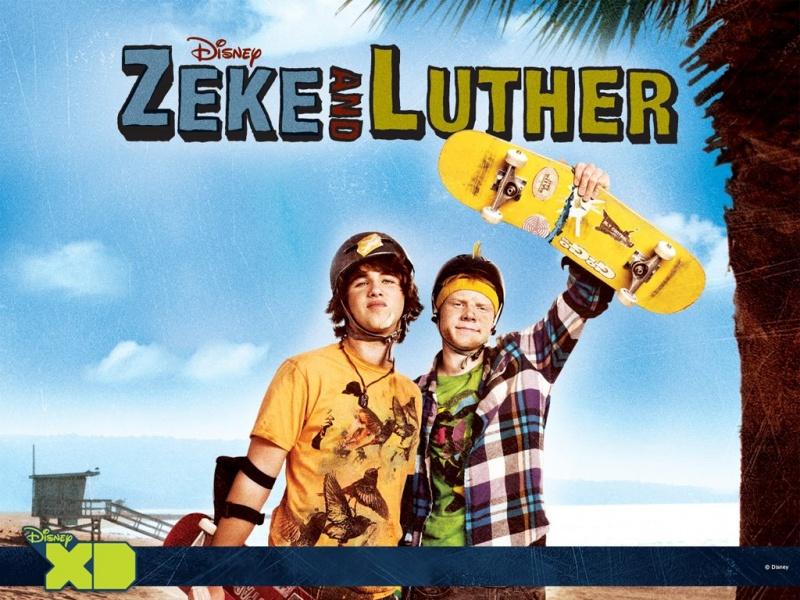 Сериал Зик и Лютер 1 сезон Zeke and Luther смотреть