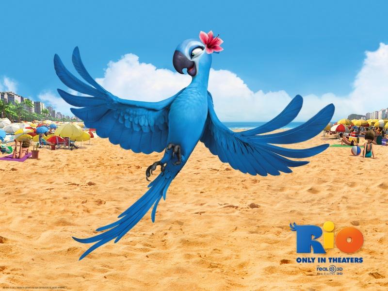 Рио - смотреть онлайн мультфильм бесплатно в