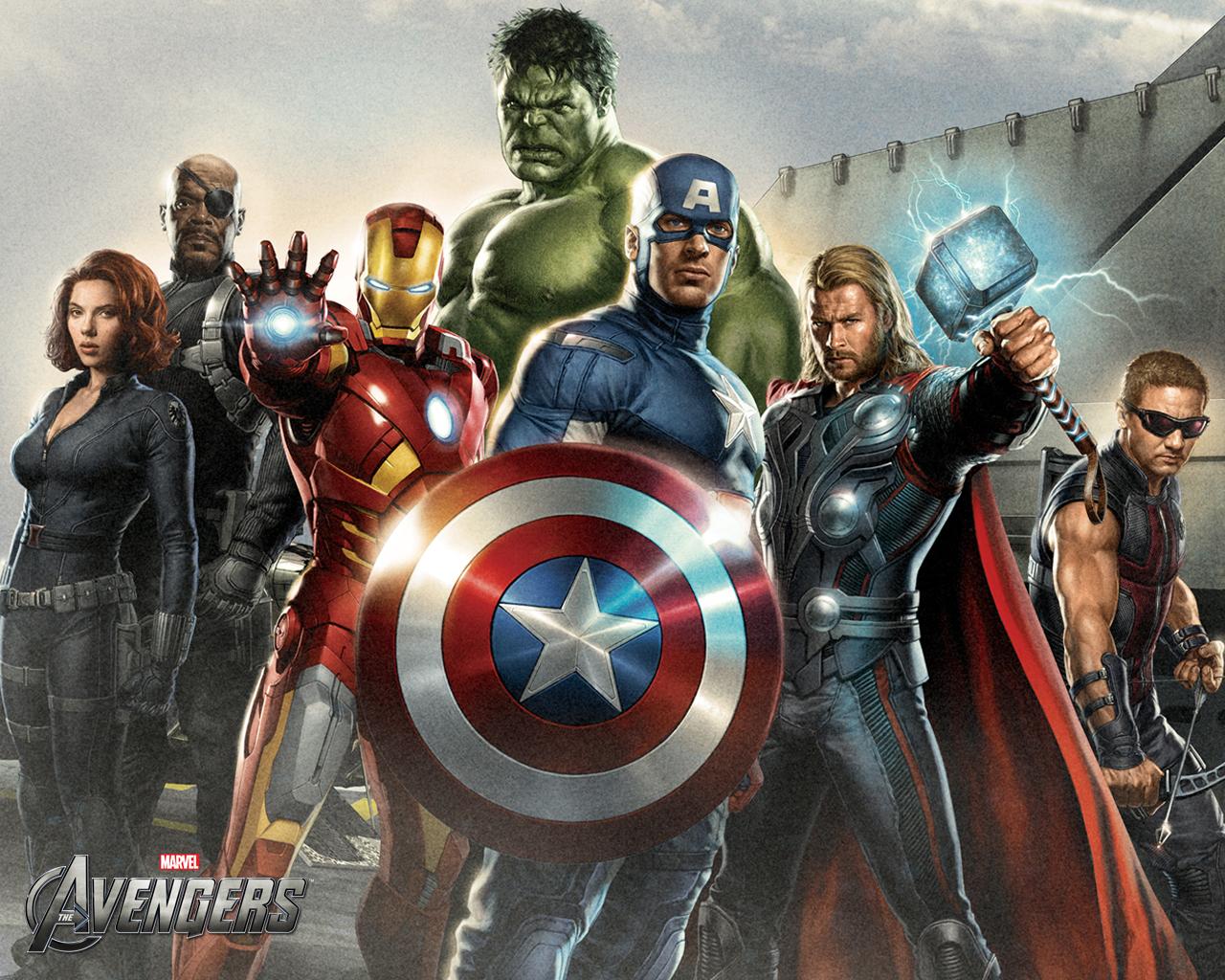 Мстители 4 Picture: Обои: Мстители