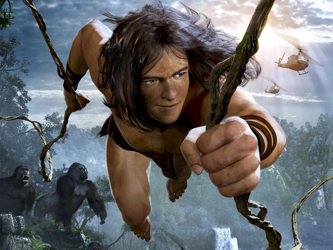 Тарзан / Tarzan (2013) TUBE Torrent Фильмы смотреть онлайн БЕСПЛАТНО в хоро