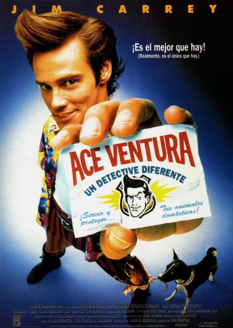 Эйс Вентура: Розыск домашних животных (1993)